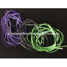 Cable reflectante para auriculares
