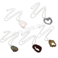 2015 Gets.com druzy necklace, Ice Quartz Agate