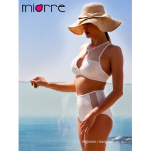Miorre Women High Waist Swimwear Bikini