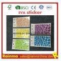 Klebe Buchstaben EVA Schaum Wandaufkleber und benutzerdefinierte EVA Aufkleber