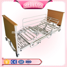 Extra low electric hospital nursing bed with 5 functions