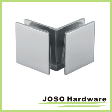 Square Glass to Glass 90 Degree Glass Clip (BC202-90)