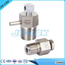 Alta efciencia Válvula de purga manual de acero inoxidable