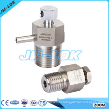High pressure stainless steel hydraulic bleed valve in China