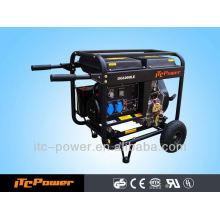 ITC-Power 5KVA diesel pequeno gerador