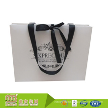 Guangzhou Manufacturer Wholesale Top Quality Durable Matte Lamination Giant Paper Bag With Ribbon Bowknot
