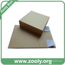 Eco-Friendly Natural Brown Kraft Paper Folding Gift Box