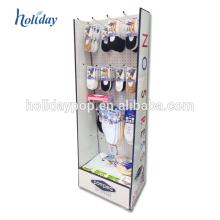 Exposição do cartão da promoção da caixa do telemóvel do supermercado com gancho / Peg