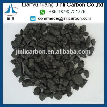 piezas de electrodo de grafito GES / grafito aditivo de carbono triturado electrodo de grafito electrodo de grafito terrones / polvo / finos