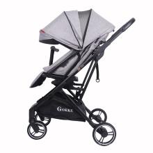 Chariot de poussette portatif de luxe de poussette de bébé d'enfant de haute qualité