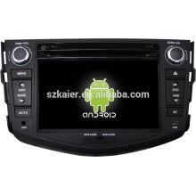 Usine ! système de navigation de gps de voiture dvd pour toyota RAV4 + dual core + OEM + STOCK + USINE