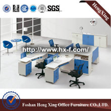 Traditional Malamine 4 Seats Office Partition