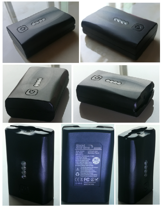 AC258 heated vest battery 3v 7v