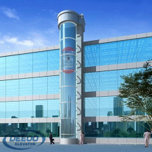 China Observación panorámica de pasajeros comerciales Sightseeing Glass Elevator