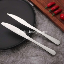 Stainless Steel Tableware Thickened Knife
