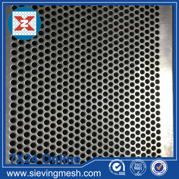 Mesh Skrin Logam Perforated