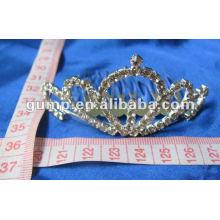 Crstal tiara comb (GWST12-105)