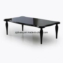 Sala de estar estilo moderno em madeira mesa de chá (LS-845)