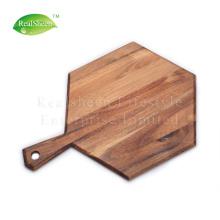 Hexagon Paddle Acacia Wood Cutting Board