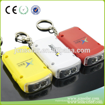 Hot LED personalized solar Keychain, solar powered keychain name ,LED key lamp