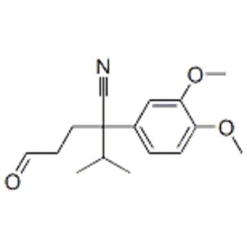 3-(3,4-dimethoxyphenyl)-2-methyl-6-oxohexane-3-carbonitrile  CAS 27339-25-9