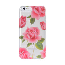 Estuche de diseño de flores IPhone6 ​​IPhone6 ​​plus TPU / PC IMD