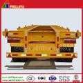 60 Tonnen Skelett Semi Trailer für den Containertransport