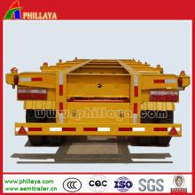 Semirremolque esqueleto de 60 toneladas para el transporte de contenedores