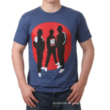 Herren Sommer Kurzarm Rundhals Fashion Printing Baumwolle Großhandel T-Shirt