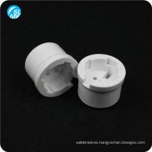 glazed lamp parts 95 alumina ceramic wall socket glossy