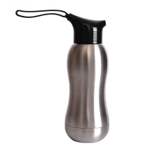 350ML Kids stainless steel sport water bottle with screw-cap design