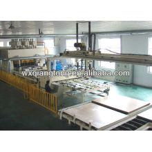 Placa de melamina de ciclo corto de laminación máquina de prensa / paneles de muebles de producción de la máquina
