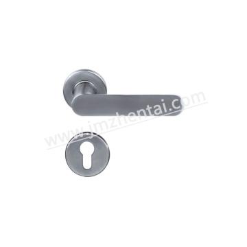 Современная ручка рычага двери с внутренним рычагом типа на розе