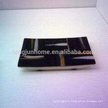 Bac à serviettes noir