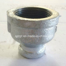 "1-1 / 2 * 1/2 ""Galvanizado Banded Reducido Socket Malleable Iron Pipe Fitting"