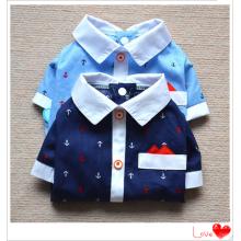 Повседневные рубашки для собак одежда Pet одежда