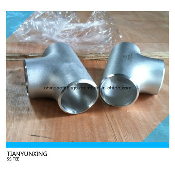Butt Weld Stainless Steel Seamless Pipe Fittings Tee