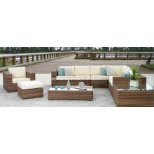 Jardim vime Lounge ao ar livre mobiliário pátio sofá do rattan