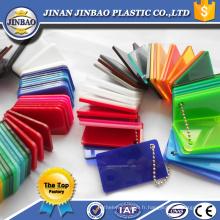 panneau de feuille acrylique décoratif coloré bon marché à haute brillance