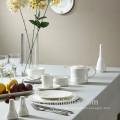 New design 2015 round shape with decal dinnerware set porcelain ceramic corelle dinnerware sets wholesale