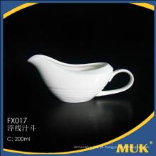 A granel comprar da china eurohome pequeno pote de leite de porcelana