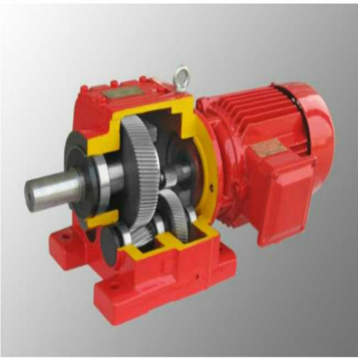 Foot Mounted Inline Helical Gearbox Speed Reducer RF97