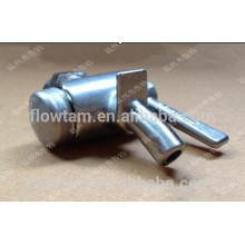 Stainless steel sanitary beer sample valves