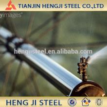 Tubo de acero galvanizado en caliente para la agricultura; Irrigación