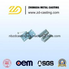 Investment Steel Casting für Eisenbahn Hochspannungsleitung