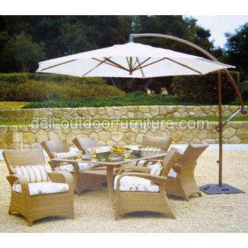 Luxury Garden Dining Room Chair Table Set