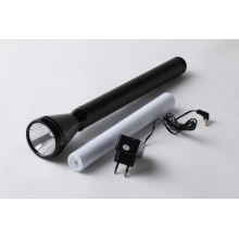 Rechargeable Unbreakable Lens Shock Proof Max Force Flashlight (5D)