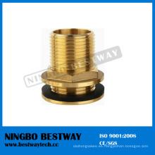 El mejor ajuste de tubería de cobre amarillo del tanque del funcionamiento (BW-654)