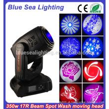 DJ Disco Evento 17r feixe spot lavar 3 em 1 350w movendo cabeça luz