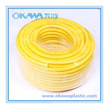 Manguera corrugada de PVC para la protección del cable